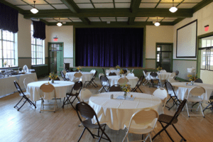 Moton Auditorium Banquet Style Seating