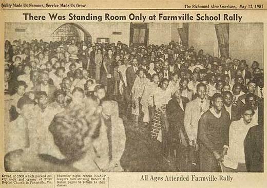 Farmville School Rally